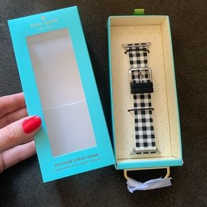 Kate Spade Silicone Strap for Apple Watch 38mm